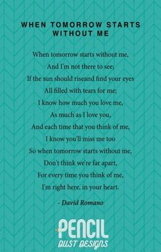 When Tomorrow Starts Without Me. A collection of non-religious funeral poems tha. - When Tomorrow Starts Without Me. A collection of non-religious funeral poems that help soothe our g - Baby Quotes, Me Quotes, Family Quotes, Girl Quotes, Lost Quotes, Heart Quotes, Funeral Quotes, Funeral Poems For Dad, Funeral Ideas