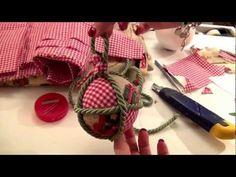 Palline patchwork per Natale - YouTube
