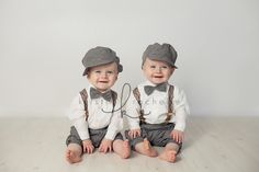 Such adorable of twin boys @kristinrachellphotography.com