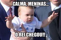 Bebê George ganha tumblr com piadas sobre as caretas dele em fotos Baby George te despreza, Reprodução/
