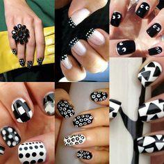 sheepish nail art! :D