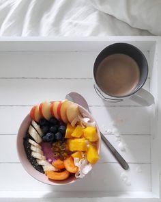 Chocolate Fondue, Acai Bowl, Breakfast, Desserts, Food, Acai Berry Bowl, Morning Coffee, Tailgate Desserts, Deserts