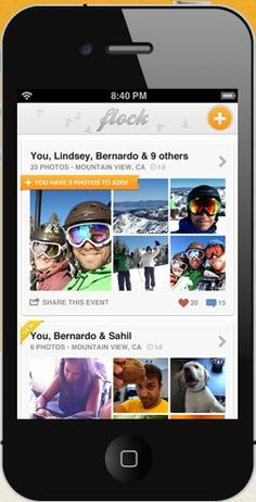 Flock photo sharing app allows you to crowdsource your pics {Smart for group family vacations!}