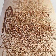 laser-cut skateboard deck by Character design agency