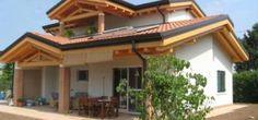 La casa in legno prefabbricata