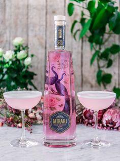50ml Mirari Pink Gin 10ml Fresh lemon juice 20ml Raspberry syrup 1 Egg white