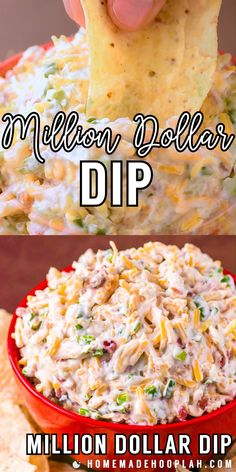 Million Dollar Dip! Also called Neiman Marcus Cheese Dip, this almond, bacon, and cheese recipe started out as a spread and quickly become a crowd-pleasing million dollar dip that's lasted the test of Best Dip Recipes, Best Appetizer Recipes, Yummy Appetizers, Favorite Recipes, Cheese Dip Recipes, Seafood Appetizers, Pimento Cheese Recipe Pioneer Woman, Appetizers Easy Cold, Bon Appetit