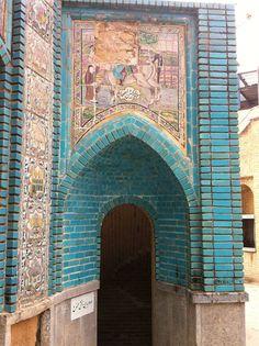Takieh Moaven 'ol Malek, Kermanshah Iran 2014 | @FigandQuince (Pesian food culture blog)