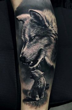 wolf tattoo design Men Wolf Tattoo Designs For Men Masculine Idea Inspiration With That Said Perhaps You Can Understand Why Many Men View Wolf Tattoos As Symbols Of Stre. Wolf Sleeve, Wolf Tattoo Sleeve, Tattoo Sleeve Designs, Lion Tattoo, Tattoo Designs Men, Sleeve Tattoos, Tattoo Wolf, Tattoo Animal, Art Designs