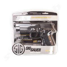 Sig Sauer P226 Blow Back CO2-Pistole Kaliber 4,5mm Diabolos  - schwarz  - schweres Vollmetall -