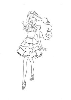 Ausmalbilder Barbie Mit Tiere 34 Coloring PagesDisney ColorsBarbie