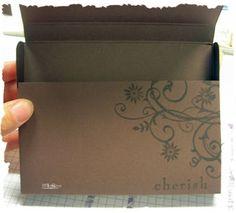 Designs by Lisa Somerville: Card Box Holder Tutorial