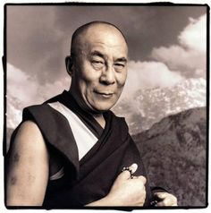 """Every day, think as you wake up, today I am fortunate to be alive, I have a precious human life, I am not going to waste it. I am going to use all my energies to develop myself, to expand my heart out to others; to achieve enlightenment for the benefit of all beings. I am going to have kind thoughts towards others, I am not going to get angry or think badly about others. I am going to benefit others as much as I can."" - HH The Dalai Lama"