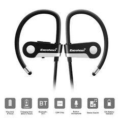 Excelvan C6 - $8.99 Wireless Bluetooth 4.1 Sports Headset Earphone Headphone Bluetooth Earpiece Sport Running Stereo Earbuds With Microphone Hands-free Call / On-cord Control / English Prompt / Sweat Resista  #Excelvan, #Earphones, #gearbest, #наушники    8565