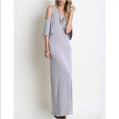 Distraction maxi dress Grey L Dresses Maxi