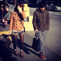 #harajuku #trendspotted in #harajuku today #tokyo #young #casual men and women
