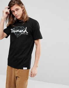 e55abef4 Get this Diamond Supply's printed t-shirt now! Click for more details.  Worldwide