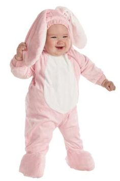 Plush Pink Bunny Rabbit (Infant and Toddler) Halloween Costume - FREE SHIPPING $39.00