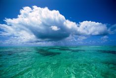 Nube sobre el agua