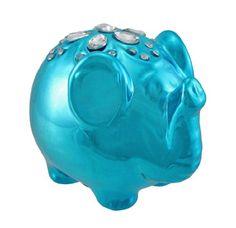 Metallic Blue Lucky Elephant Coin Bank with Rhinestones Things2Die4 http://www.amazon.com/dp/B00DC91QYA/ref=cm_sw_r_pi_dp_btr5wb07XZX9W