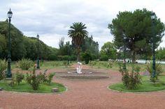 El Rosedal del Parque San Martin, Mendoza.