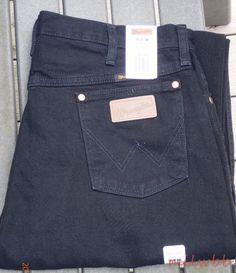Wrangler Mens 13MWZWK Cowboy Cut Original Fit Black Denim Jeans 36x36 NWT #Wrangler #ClassicStraightLeg