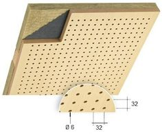 Siuperfo(wooden perforated panel)