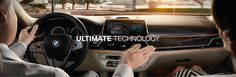 The all new 2016 BMW 7 Series with Gesture Control