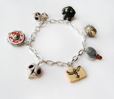 HTTYD Charm Bracelet. I want this so bad!