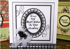 'Sentiments For All Occasions' - Sentiment Die. Visit tatteredlace.co.uk for available stockists.