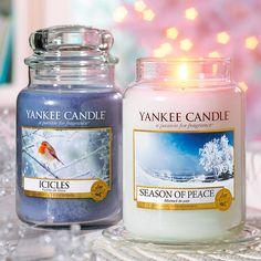 Yankee Candle – vonná svíčka Season of Peace, střední