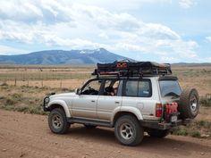1990 1997 Toyota Landcruiser 80 Series Roofrac Roof