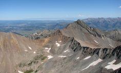 Wilson Peak, fourteener in Colorado