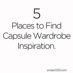 If you are gearing up for your first or next Project 333 capsule wardrobe beginning on October 1st, you are not alone. I've been reviewing my pieces from last fall and thinking aboutwhat to includ...