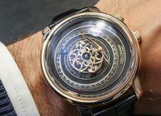 Graham Tourbillon Orrery Watch