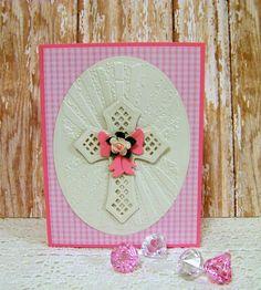Ann Greenspan's Crafts: Spellbinder's Crosses Two Easter cards