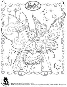 Barbie Fairy Coloring Pages To Print L 026eed0990faba12