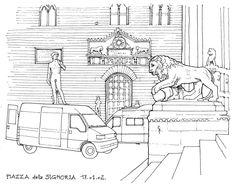Florence, Piazza della Signoria 2002 | by gerard michel
