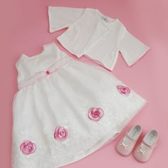 Pink roses for really special ocassions for more event dresses for your little one check out www. Fairytale Dress, Event Dresses, Stylish Dresses, Little Princess, Dress For You, Pink Roses, Cold Shoulder Dress, Rompers, Check