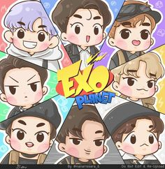 #FANART #THE POWER OF MUSIC #EXO