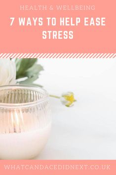 7 ways to help ease stress in your life Destress, Pick Me Up, Health And Wellbeing, Self Care, Wellness, Meditation, Mindfulness, Sleep, Life
