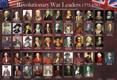 Revolutionary War Leaders Placemat