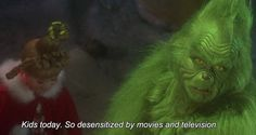 How the grinch stole Christmas. My favorite scene. Her giggle is so cute!