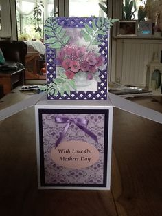 For my mother inlaw using hunkydory and spellbinders