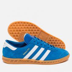 super popular 73d4c 3ed08 adidas Originals Hamburg Blue Bird White Gum. Article  S76697. Release