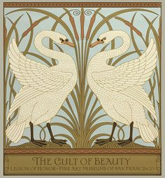 Originally created as a wallpaper dado panel, this design by Victorian illustrator and artist Walter Crane has been faithfully reproduced as a poster. This art poster was produced to commemorate The Cult of Beauty exhibit at its only North American venue - The Legion of Honor Fine Arts Museum of San Francisco. It was the first major exhibition to explore the unconventional creativity of the British Aesthetic Movement, tracing the evolution of this movement from a small circle of progressive…