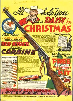 Red Ryder Christmas Ad