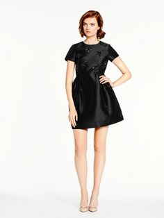Embellished Dress from Kate Spade || Obviously way too expensive, but I love this style for a Little Black Dress