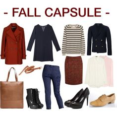 """FALL CAPSULE"" by lufru on Polyvore"