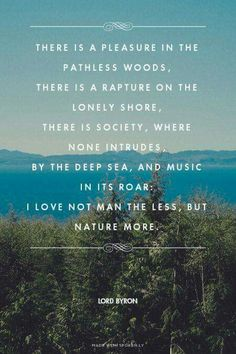 I love nature more. Infinitely more... This is perfect. Was trying to figure out how to explain this feeling recently